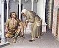 Gentile da fabriano, presentazione al tempio (da pala strozzi), 1423, 08.JPG