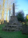 Churchyard Cross in Churchyard, Church of St Aldhelm