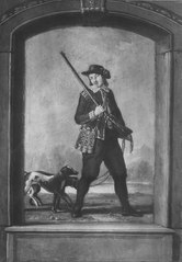 Georg Johan De Besche, 1754-1814, rollporträtt ur \