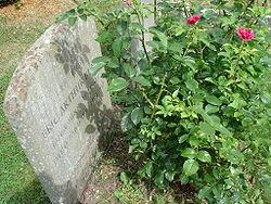 Tombe d'Eric Arthur Blair