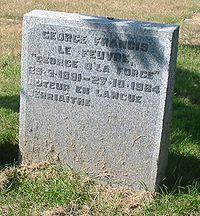 George Francis Le Feuvre grave.jpg