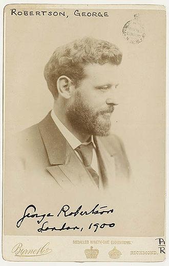 George Robertson (publisher) - George Robertson in London, 1900