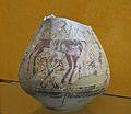 Gerreta amb escena de genets i de caça, Tossal de sant Miquel (Edeta), museu de Prehistòria, València.JPG