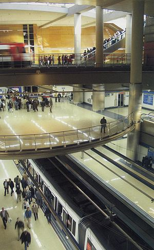 Getafe Central (Madrid Metro) - Image: Getafe Central interior