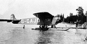 Fokker Universal - G-CAJD from Western Canada Airways, c.1928