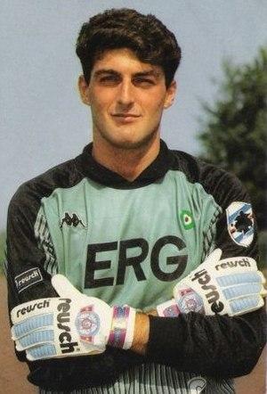 Gianluca Pagliuca - Gianluca Pagliuca with Sampdoria in 1989