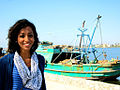 Gigi Ibrahim next to a boat.jpg