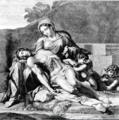 Gilles Rousselet, Pietà after Annibale Carracci.png