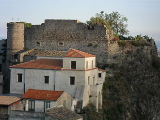 Province of Reggio Calabria - Castle and theatre of Gioiosa Ionica.