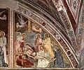 Giovanni cristiani e bottega, natività, crocifissione con santi e compianto, 1390 ca. 15.jpg
