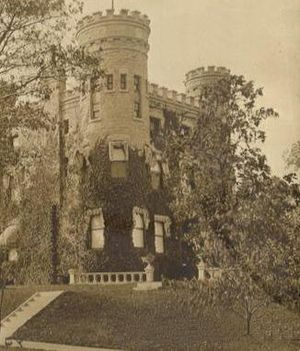 Beverly, Chicago - Image: Givens Castle 1890
