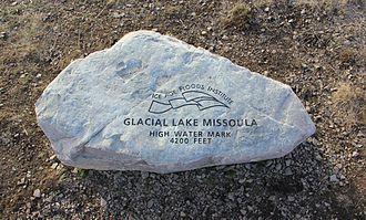 Mount Sentinel - Glacial Lake Missoula