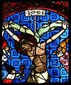 Glasfenster aus Minoritenkirche Regensburg Kreuzigung.jpg