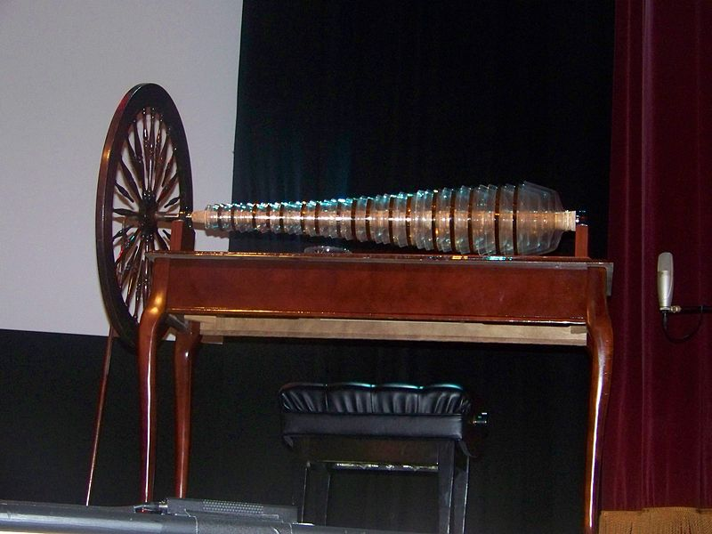 Benjamin Franklin's Glass Harmonica on BingoforPatriots.com