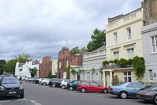 street in Royal Borough of Kensington and Chelsea, United Kingdom