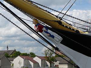 Glenlee (ship) - Image: Glenlee figurehead