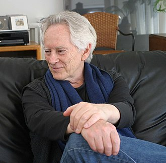"Michael McClure - McClure during the video taping of ""Add-Verse"", 2004"