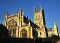 Gloucester Cathedral Setting Sun.jpg