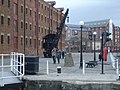 Gloucester Docks - Old Crane dock side - geograph.org.uk - 609624.jpg