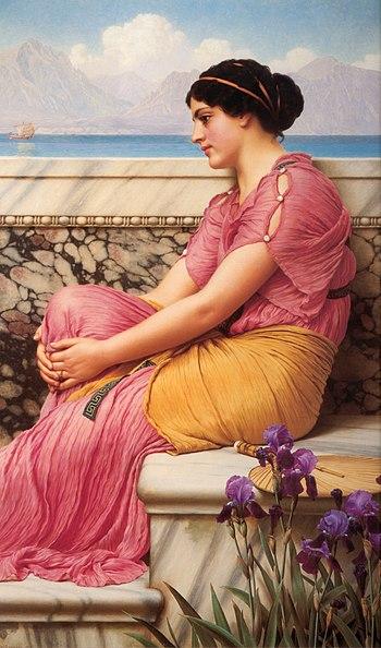 Godward-Absence Makes the Heart Grow Fonder-1912
