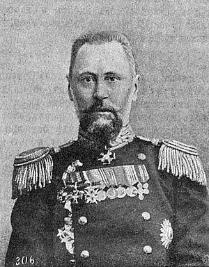 Russian battleship Potemkin - Captain Golikov