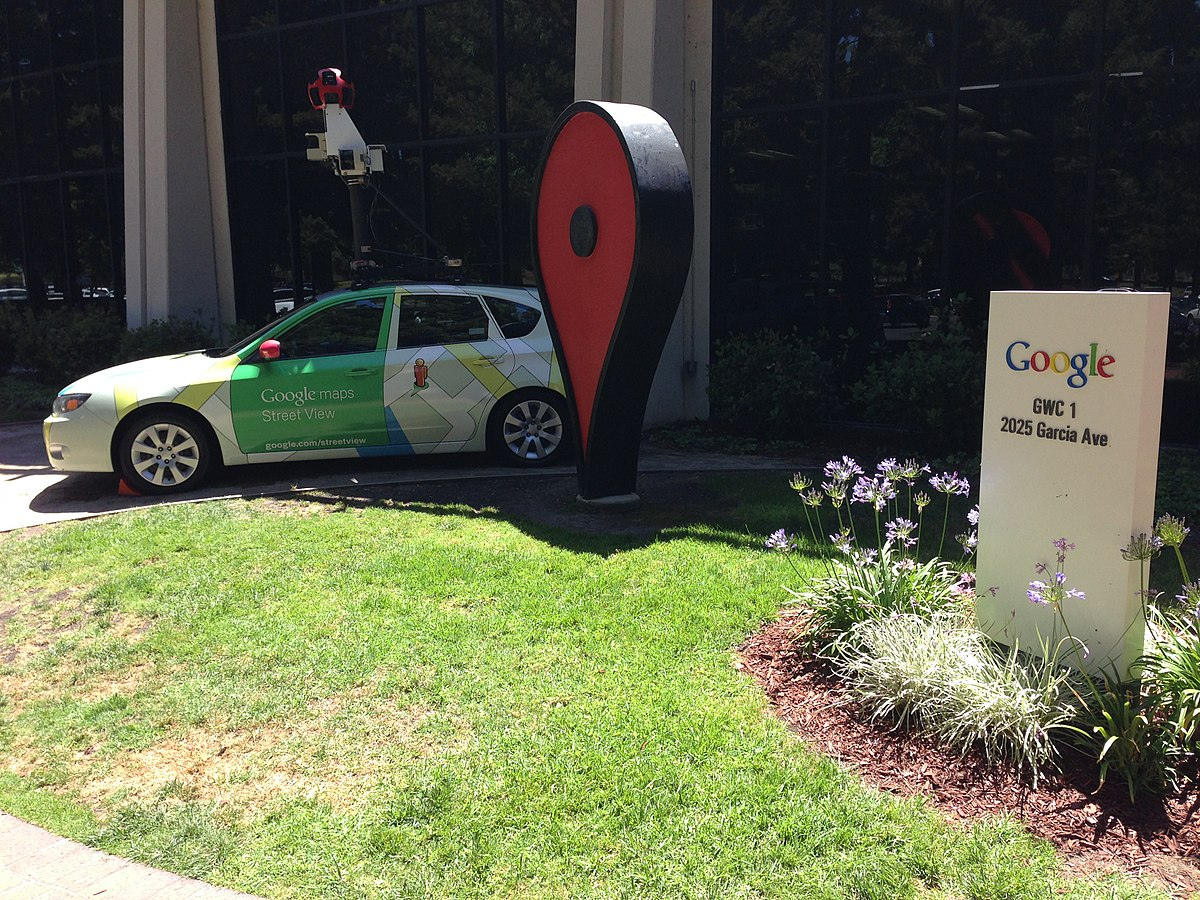 Google Maps Pin Wikipedia - How many google maps cars are there in the us