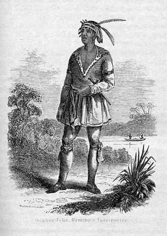 American immigration to Mexico - The Seminole leader John Horse, aka Juan Caballo