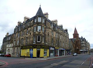 Gorgie area of Edinburgh