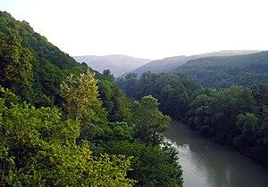 Krasnodar Krai - A hilly landscape near Goryachy Klyuch