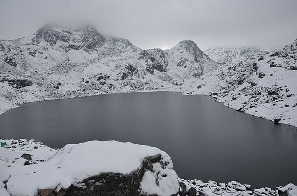 3rd place. Gosainkunda Lake, Rasuwa © Pratap Baniya, freely licensed under CC BY-SA 4.0