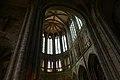 Gothic choir of the church-abbey - Mont St Michel (32798801871).jpg