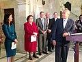 Governor Patrick, Rachel Kaprielian Secretary Announcement, January 17, 2014 (11999158913).jpg