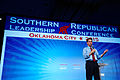 Governor Scott Walker of Wisconsin at Southern Republican Leadership Conference in Oklahoma City, OK May 2015 by Michael Vadon 06.jpg