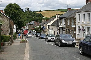 A390 road - The A390 in Grampound