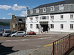 Grand Hotel, Fort William. The Grand sits at the top end of the High Street at its junction with Fassifern Road.