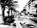 Grand Prix de Nice 1934, René Dreyfus Bugatti devant Louis Chiron Ferrari.jpg