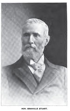 Granville Stuart - Granville Stuart, circa 1900