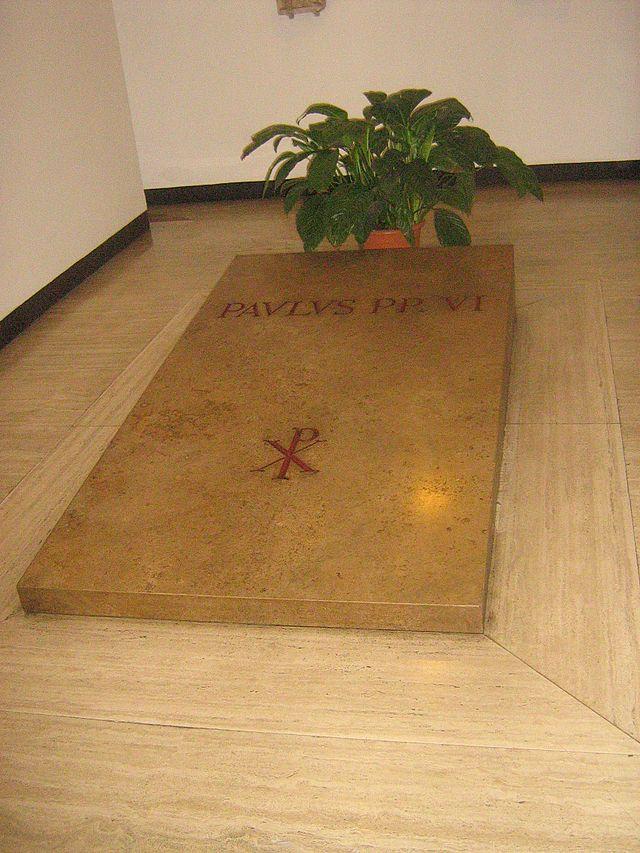 Pave Paul VIs grav