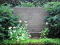 Grave of professor claes lindskog lund sweden 2008.JPG