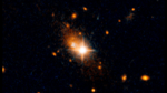 Gravitational Wave Kicks Monster Black Hole Out of Galactic Core (33568284956).png