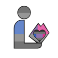 Graybiromantic Pride Library Logo.png
