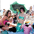 Green + Pink Mermaid Parade Coney Island Brooklyn New York City 2007.jpg