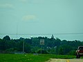 Green County Court House Clock Tower Peaking Above the City - panoramio.jpg