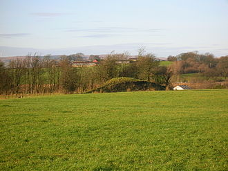 Moot hill - A mound near Greenhill farm in the old Barony of Giffen