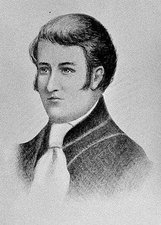 Gregory Blaxland - Portrait, 1813