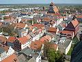 Greifswald Altstadt vom-Turm-des-Doms-St.-Nikolai-aus-gesehen April-2009 SL272415.JPG