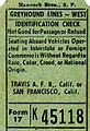 Greyhound Lines West bus ticket 45118.jpg