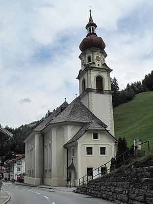 Gries am Brenner - Image: Gries am Brenner, Pfarrkirche Mariä Heimsuchung foto 4 2012 08 10 13.22
