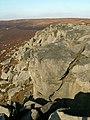 Grinah Stones main buttress - geograph.org.uk - 693791.jpg