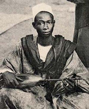 Nyamakala - Image: Griot africa